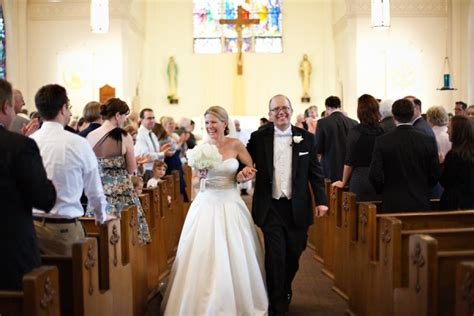 Wedding Ceremony Church by Michigan Wedding From Postma Photography