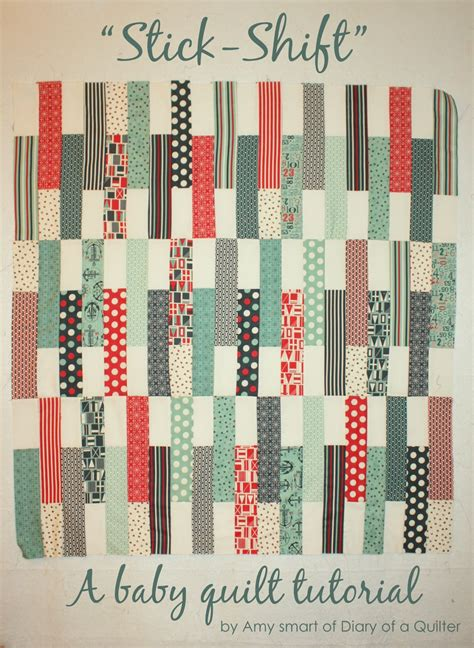 jolly boat house jolly bars baby quilt tutorial diary of a quilter a quilt blog