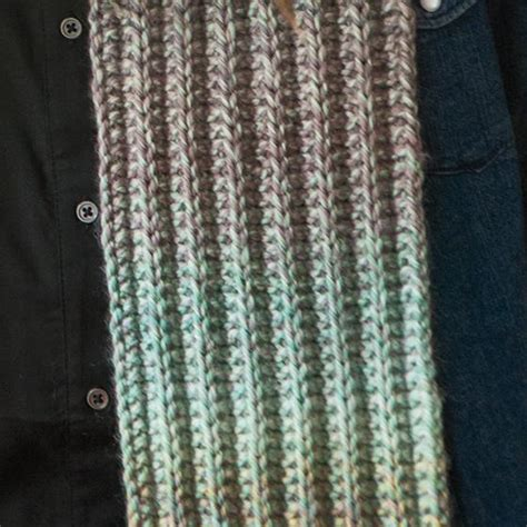 ribbed knitted scarf pattern free slipped rib scarf knitting patterns and crochet patterns