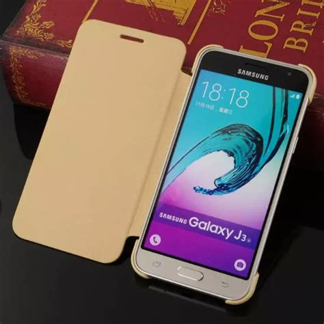Casing Samsung J3 2015 The Flash 2 Custom Hardcase Cover fashion pu flip leather for funda samsung galaxy j3 2016 j300 j320 leather cover