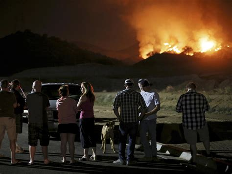 orca rams fishing boat alaska wildfire in san marcos california burns out of control