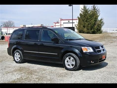 black dodge caravan 2010 dodge grand caravan sxt black for sale dealer dayton