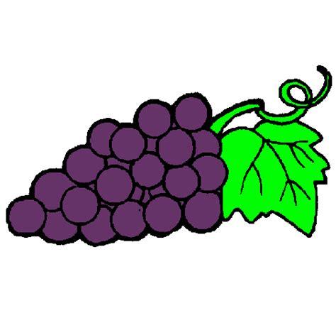 imagenes de uvas a color para imprimir dibujo de racimo pintado por uvas en dibujos net el d 237 a 25