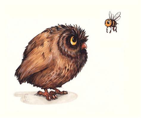 Bee And Vee Big 7 Owl owl and bee owls