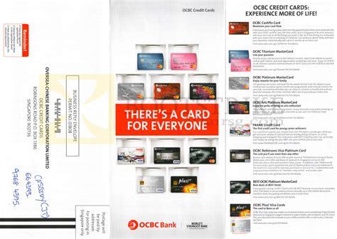Credit Card Application Form Ocbc ocbc credit cards features cashflo titanium mastercards