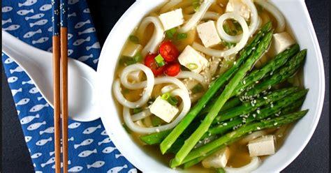 kahakai kitchen udon noodles  tofu asparagus