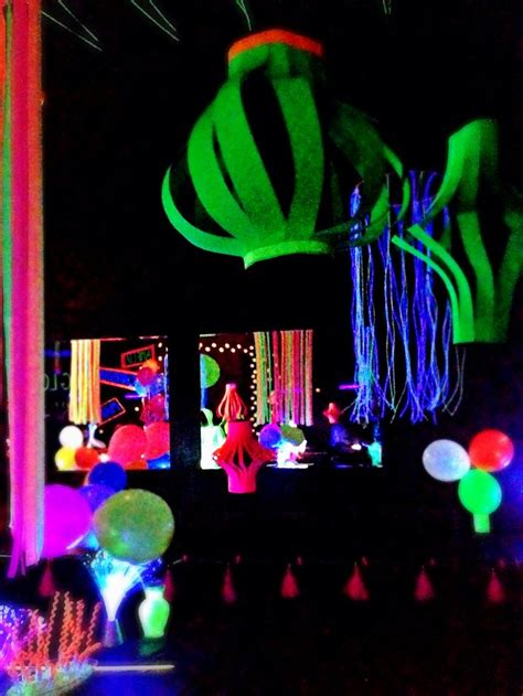 Neon party centerpieces www imgkid com the image kid has it