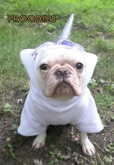 pug in unicorn costume bulldog boston terrier pug froodies hoodies costume