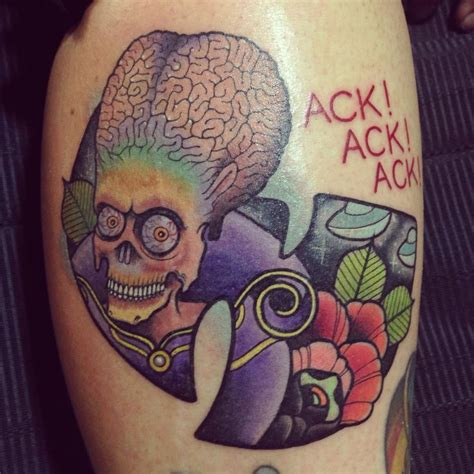 mars tattoo vectorink my brand new mars attacks