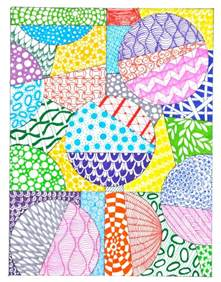 how to start a zendoodle inspired by zentangle patterns and starter pages craftwhack