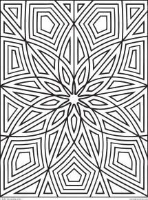 printable geometric coloring pages pattern coloring pages for adults coloring home