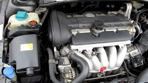 volvo   bs  cylinder engine   hood running idle youtube