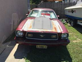 2nd 1977 ford mustang ii v8 5spd manual for sale