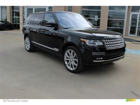 2016 Land Rover Range Rover Black 200 Interior And