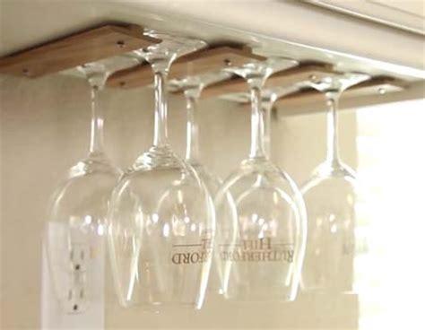 How To Make A Wine Glass Rack by How To Make A Wine Glass Rack
