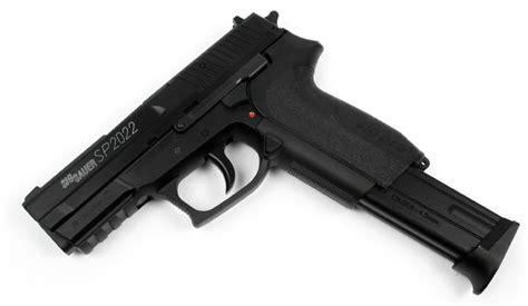 Sig sauer sp2022 co2 non blowback bb pistol w metal slide black