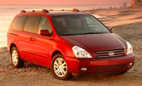 2006 Kia Sedona Car And Driver