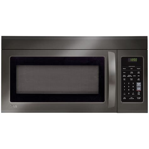 Microwave Lg Type Ms2147c lmv1831bd lg appliances 1 8 cu ft 1000w otr microwave