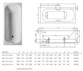 bette classic bath up view and technical specifications