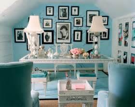 tiffany blue chic office interior design inspiration