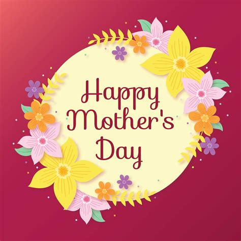 happy s day cards happy mothers day card free vector stock