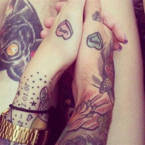 his and hers tattoos pinterest