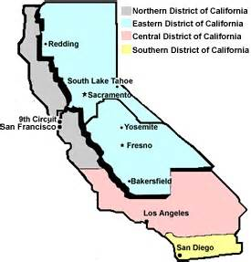 eastern district of california map about the federal court new caed