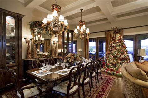 best holiday decorating ideas houzz traditional living and dining room dining room by hearn