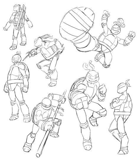 nickelodeon tmnt sketches by zachramirez on deviantart