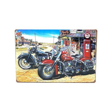 duenyadan hediyeler dekoratif plaka harley motosiklet fiyati