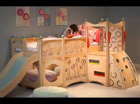 bunk bed with swing bunk bed with slide bunk bed with slide and swing youtube