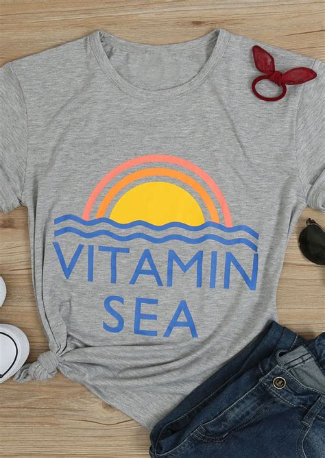 vitamin sea  shirt  necklace fairyseason