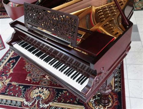 henry  miller victorian baby grand piano antique piano