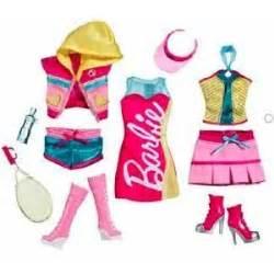 Com barbie fashionistas day looks clothes sporty tennis fashion