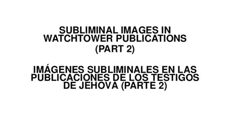 imagenes subliminales watchtower subliminal images in watchtower publications part 2