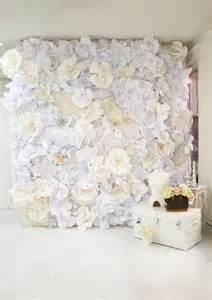 Barn Weddings In Ohio Diy Wedding Crafts Paper Flower Wall Backdrop Diy