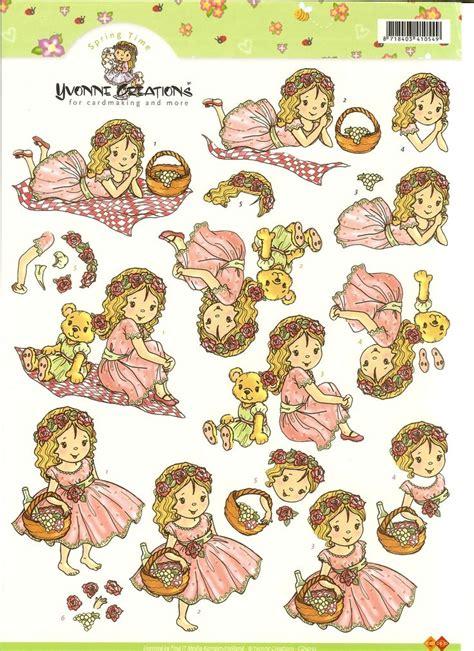 Decoupage Cards Ideas - 534 best decoupage children images on 3d cards