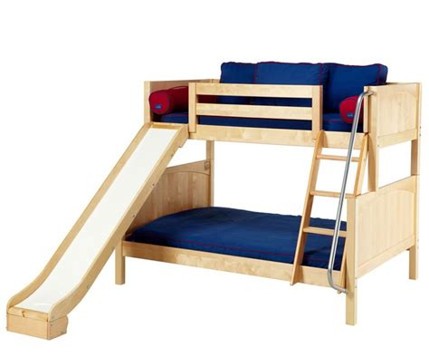 Loft Bunk Bed With Slide Top 10 Loft Beds With Slides Size Loft Bed With Desk