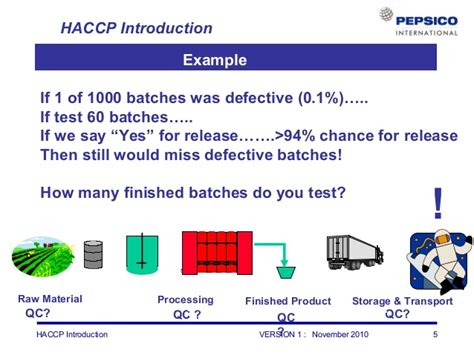 haccp test haccp introduction refresher