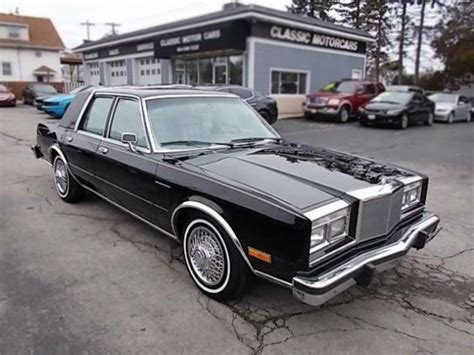 Chrysler Fifth Avenue by 1 795 No Brainer 1985 Chrysler Fifth Avenue
