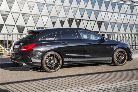 Tieferlegung Cla Shooting Brake by Mercedes Benz Cla45 Amg Shooting Brake Orange Art Edition
