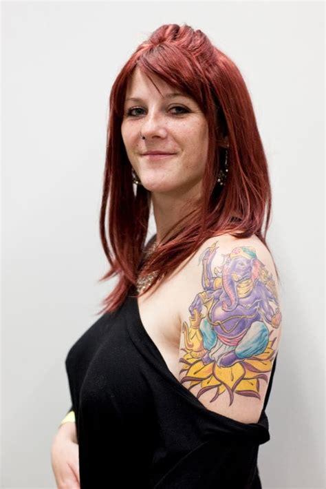 female upper arm tattoos arm tattoos creativefan