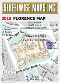 libro florence pocket map and streetwise florence map laminated city center street map