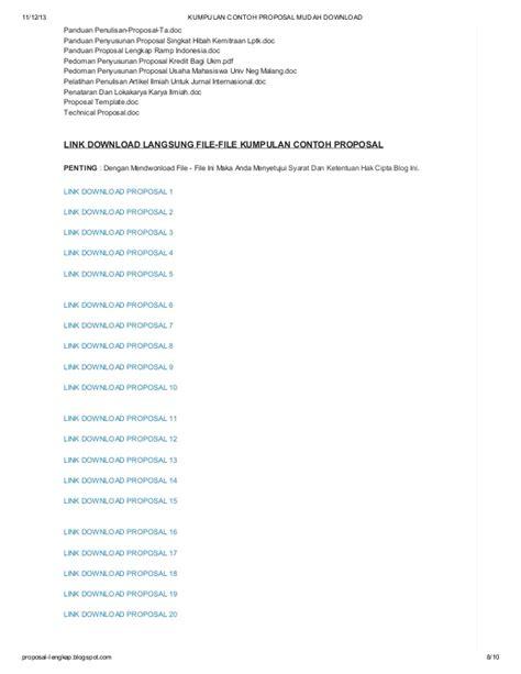 contoh membuat kerangka outline 253 kumpulan contoh proposal mudah download di blog http
