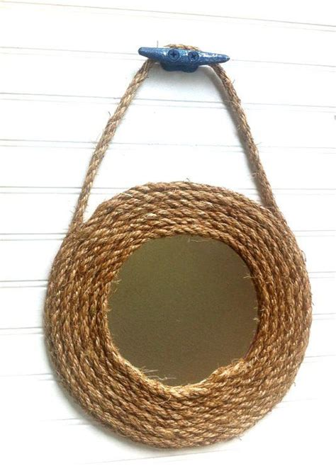 round boat cleats nautical mirror cleats and ropes on pinterest