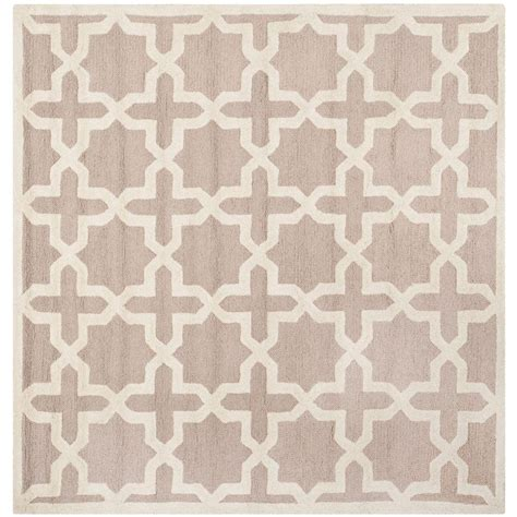 10 Square Area Rugs Safavieh Cambridge Beige Ivory 10 Ft X 10 Ft Square Area Rug Cam125j 10sq The Home Depot
