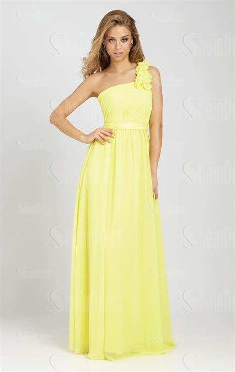 Chiffon Light Yellow Bridesmaid Dresses Bnnak0110