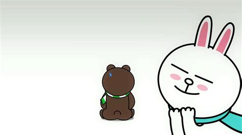 Brown Cony Line 1000 images about line characters on line sticker brown and stickers