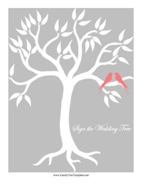 wedding tree template free family templates wedding bird tree template bible