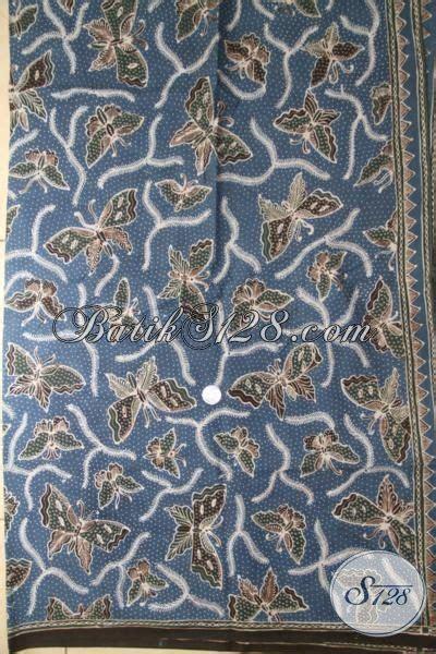 Kain Batik Sogan Jawa Premium 002 batik jawa modern premium batik kain bahan pakaian mewah batik tulis tangan warna alam batik